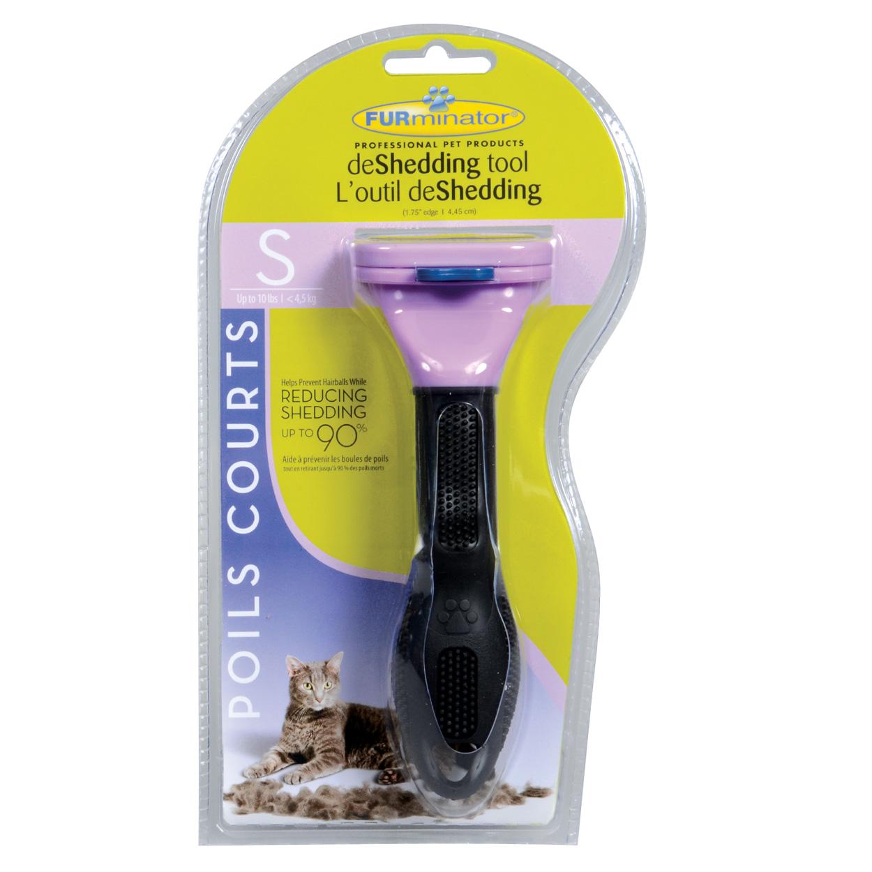 "FURminator Short Hair deShedding Tool for Cats - S - 1.75"" 10734"