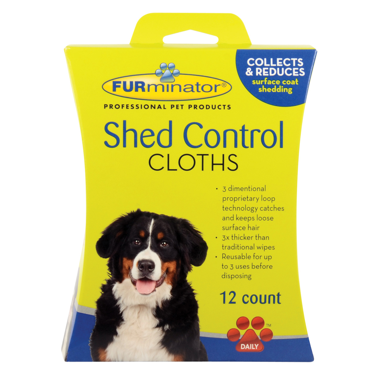 FURminator Shed Control Cloths for Dogs - 12 pk 10784