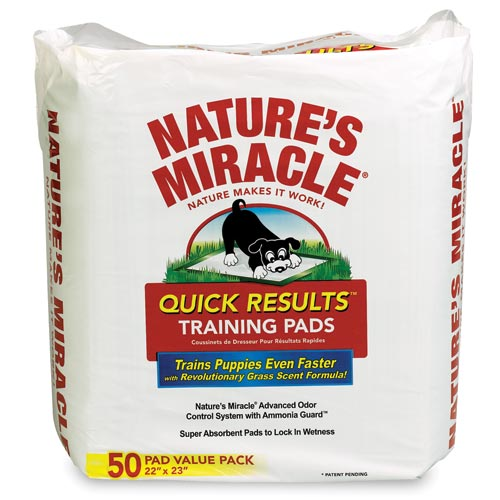Nature's Miracle Quick Results Training Pads - 50 pk 13622