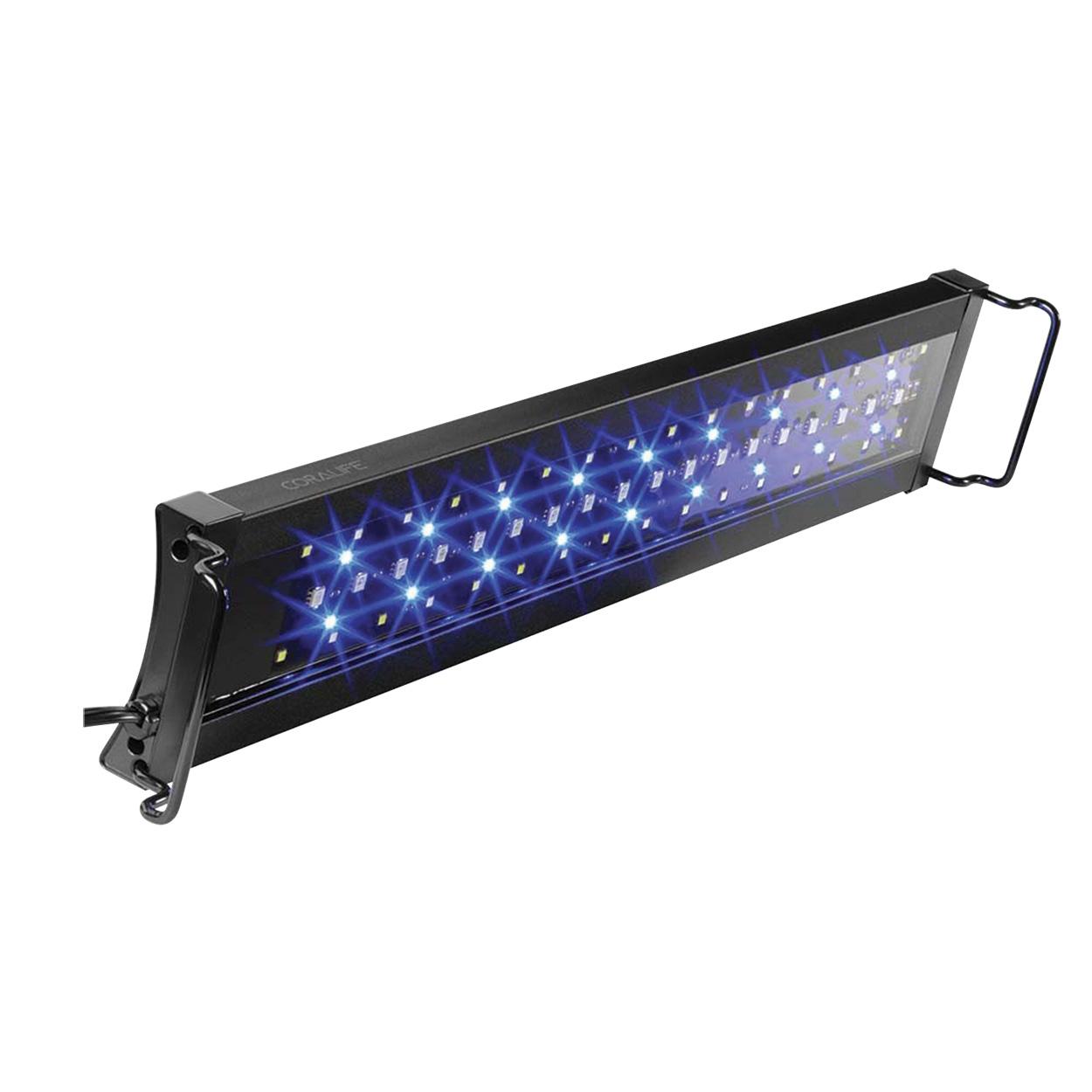 """Coralife Aqualight - S LED Aquarium Light Fixture - 30"""" - 36"""" 13760"""