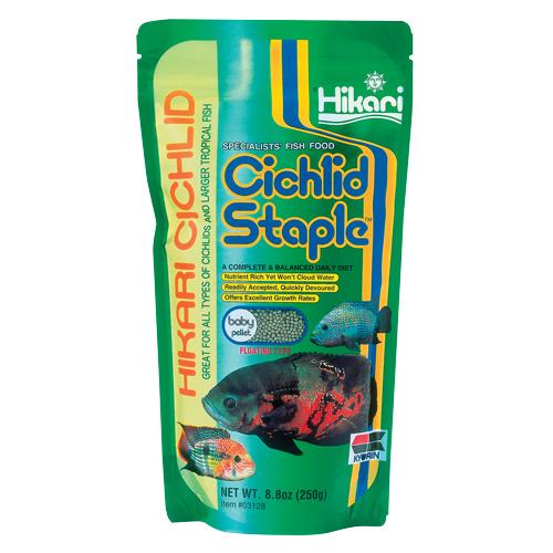 Hikari Cichlid Staple - Baby Pellets - 8.8 oz 18531