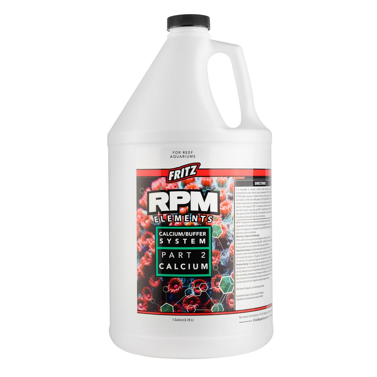 Fritz RPM Elements Calcium - 1 gal 20794