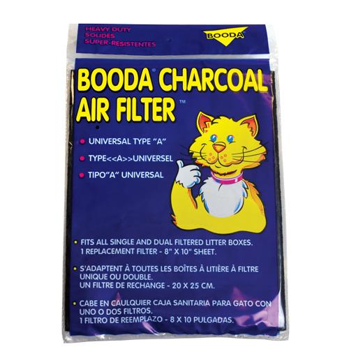 "Petmate Booda Universal Charcoal Air Filter - 8"" x 10 21693"