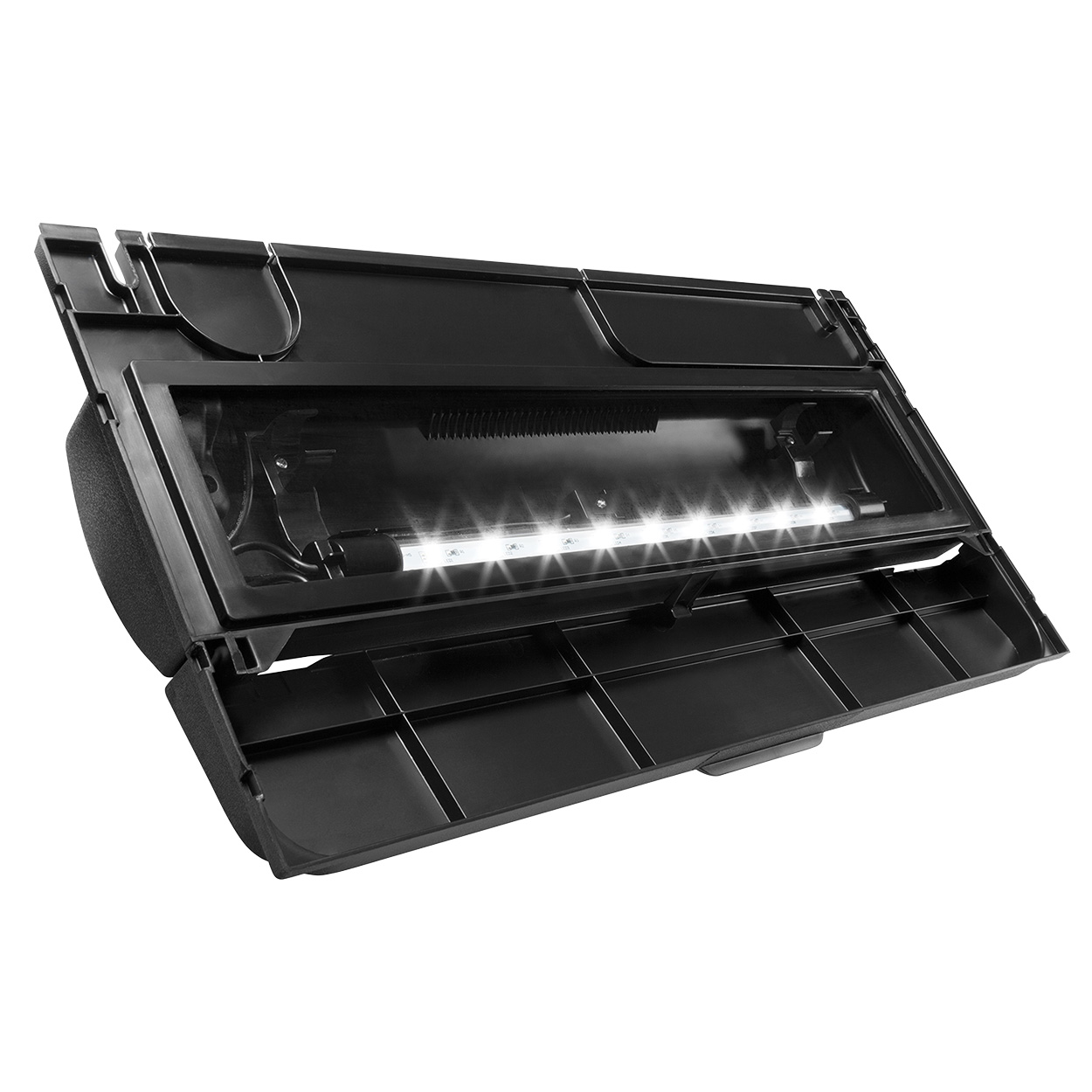 "Aqueon Deluxe LED Full Hood - Black - 24"" 22641"