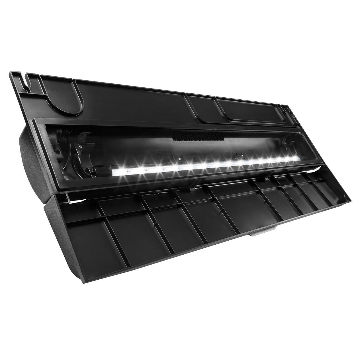 "Aqueon Deluxe LED Full Hood - Black - 30"" 22642"