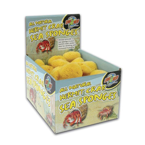 Zoo Med Hermit Crab Sea Sponge 24987
