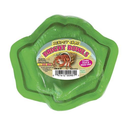Zoo Med Hermit Crab Bowl - Green 24993
