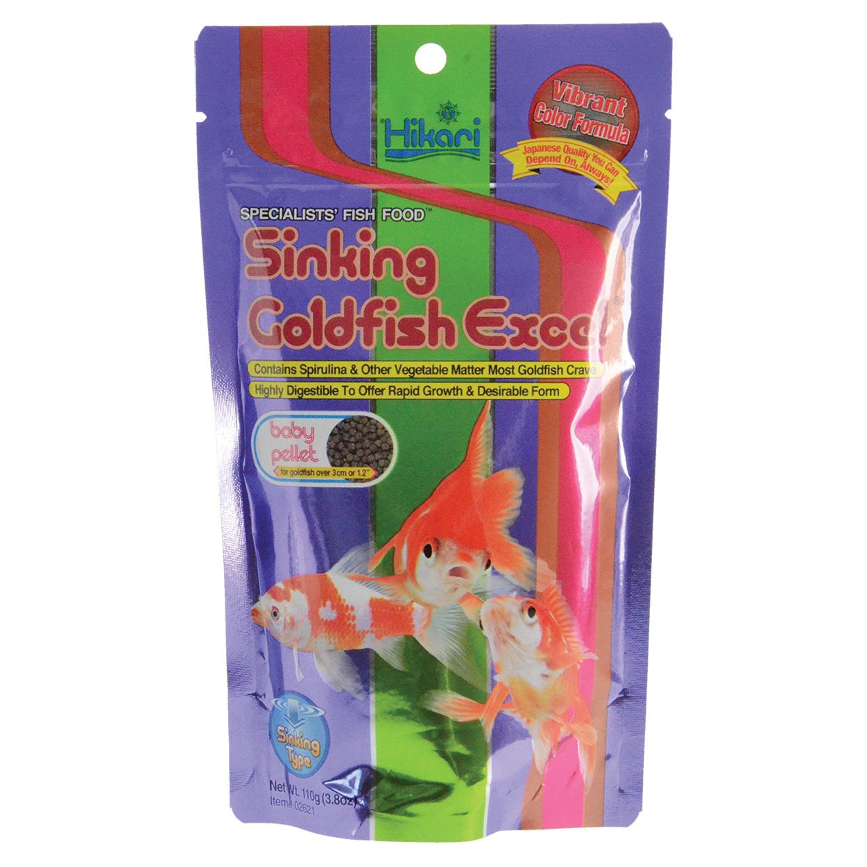Hikari Sinking Goldfish Excel - Baby Pellets - 110 g 69649