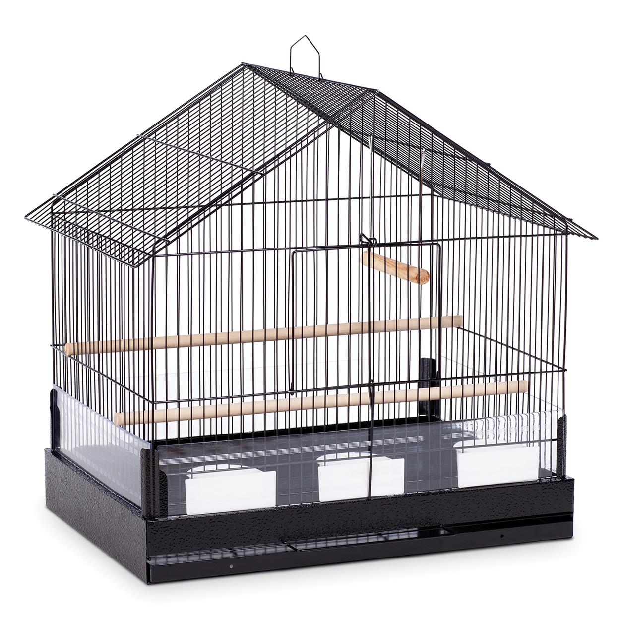 """Prevue Hendryx The Lincoln Bird Cage - Black - 22"""" x 15"""" x 23"""" 700164"""