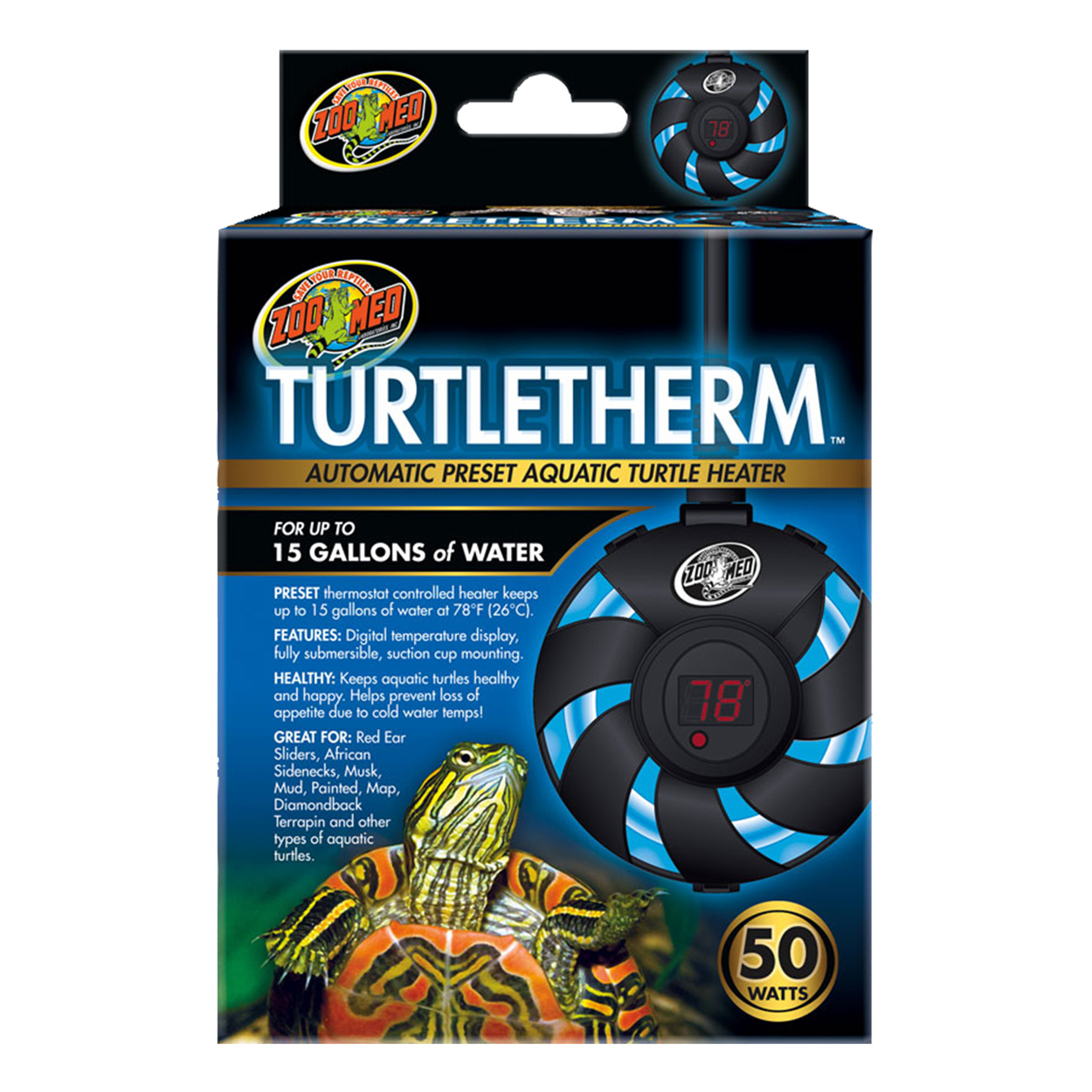 Zoo Med Turtletherm - 50 W 78148