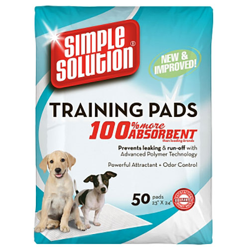 Simple Solution Training Pads - 50 pk LSBR13401
