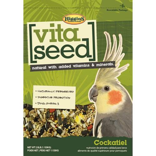 Higgins Vita Seed - Cockatiel - 2.5 lb LSHS21014