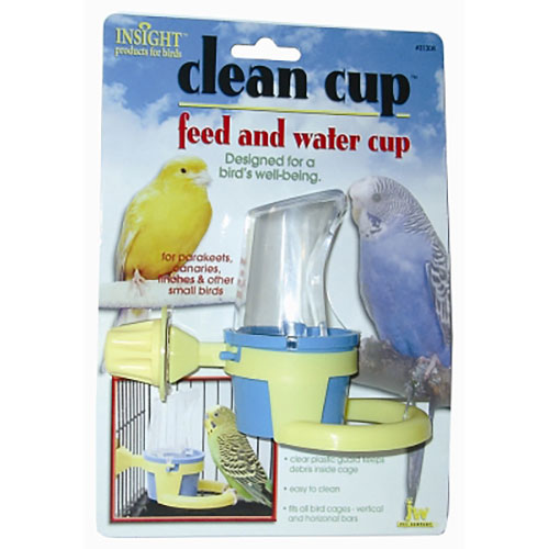 JW Pet Clean Cup Feed & Water Cup - Small LSJW31308