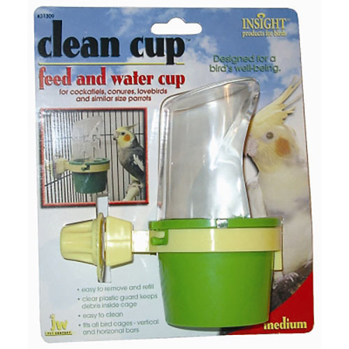 JW Pet Clean Cup Feed & Water Cup - Medium LSJW31309