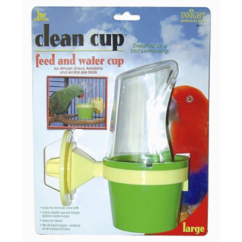 JW Pet Clean Cup Feed & Water Cup - Large LSJW31311